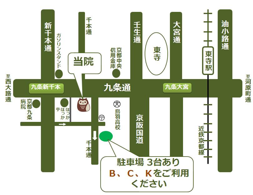 クリニック略地図